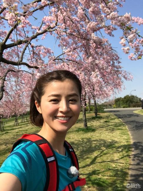 鈴木ちなみのランニング旅~荒川線と桜のおいしい関係!~⑤