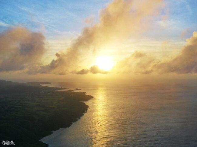 与那国島夕日