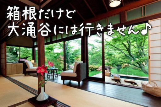 箱根の高級温泉旅館へ母娘2人でオトナ女子旅