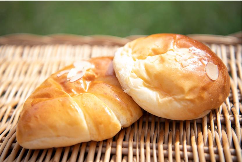 パン有本の人気のクリームパン