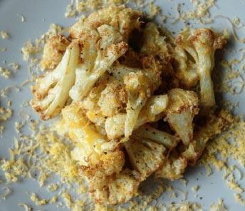 CLISP カリフラワーのフライとミモレットチーズ