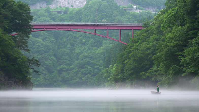 霧幻峡の渡し