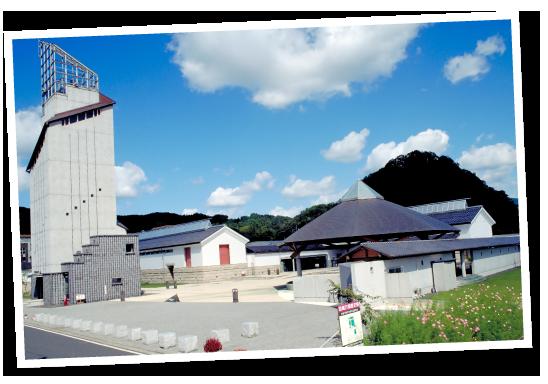 シンボルタワー「時の塔」からは鳥取市街地を一望することができる