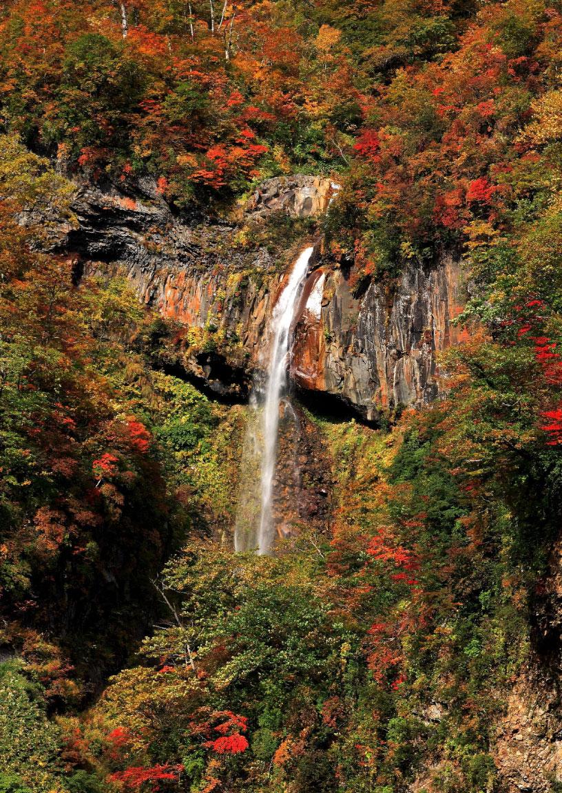 日本の滝百選に選ばれている「惣滝(そうたき)」