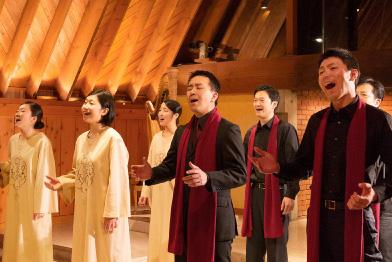 ゴスペルが響く「クリスマス音楽礼拝」