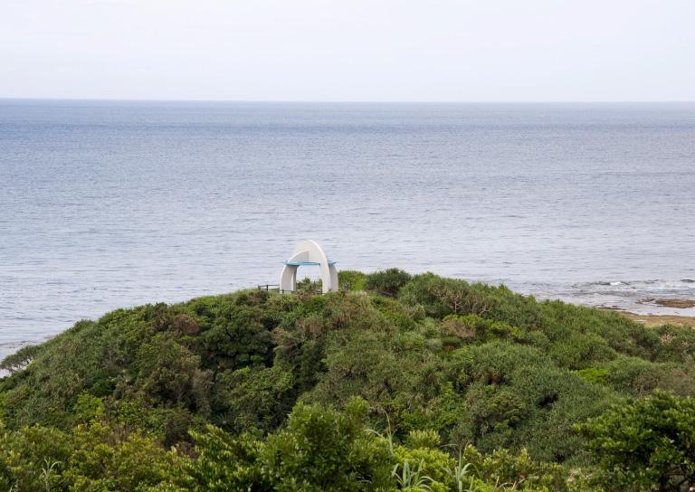 あやまる岬から見る美しい海