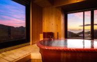 北アルプスを望む露天風呂の宿 ひがしだて