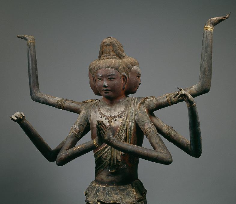 早朝特別拝観では、国宝館に展示されている奈良時代に作られた国宝「阿修羅像」も拝観できる(興福寺)