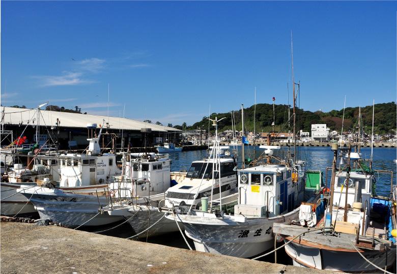 ふぐの水揚げ港日本一の輪島漁港