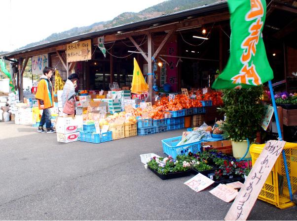 同館では地元の特産品が購入できる「ひな市」も開催される