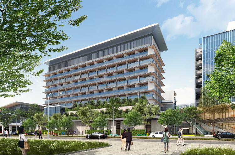 同ホテルは立川駅北側の大規模複合開発「GREEN SPRINGS」の中核となる