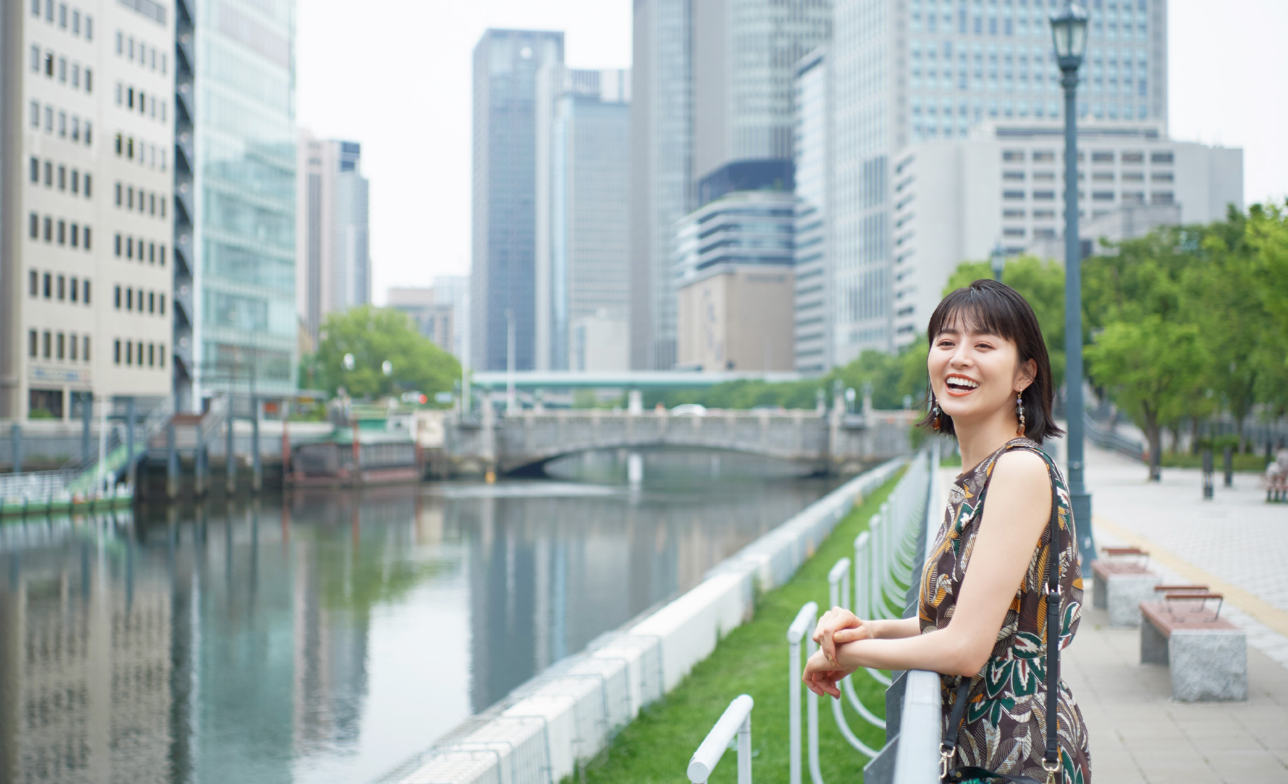 鈴木ちなみさんがナビゲート レトロとモダンを楽しむ大阪の歩き方