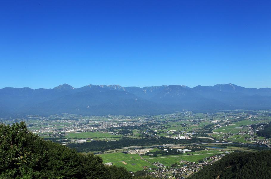 長峰山からの壮大な眺めを楽しむ