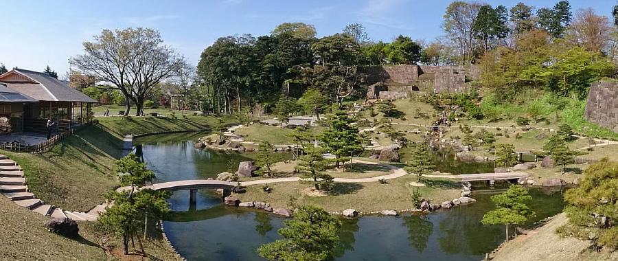 玉泉院丸庭園(金沢城公園)