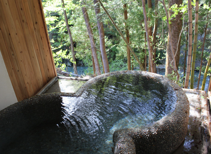 温泉グランピング シマブルー