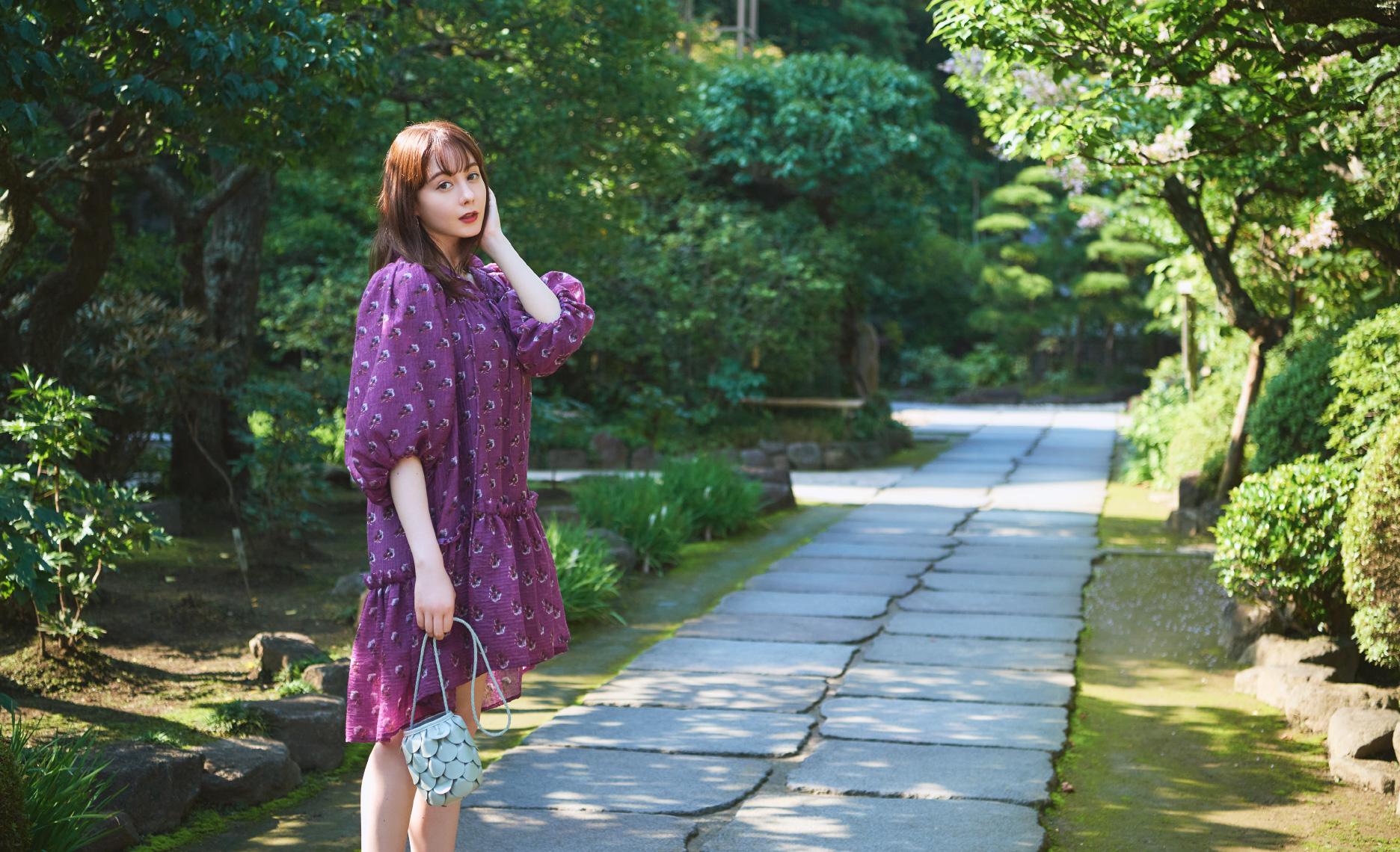 トリンドル玲奈さんがナビゲート 名残の夏を満喫する海辺の鎌倉プチトリップ