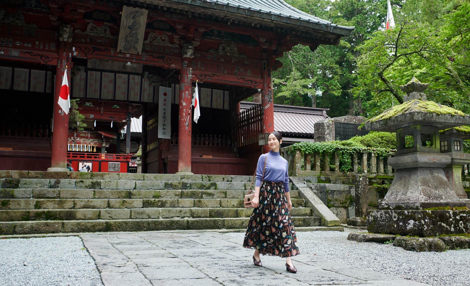 松井玲奈さんがナビゲート 秋を見て、触れて、感じて河口湖でアートトリップ