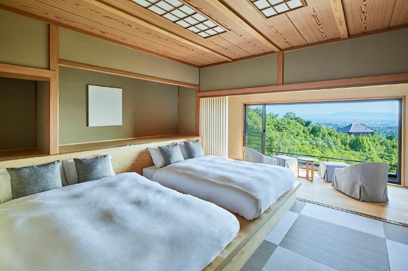 歴史ある風景を望みつつ美食に満たされる ANDO HOTEL 奈良若草山
