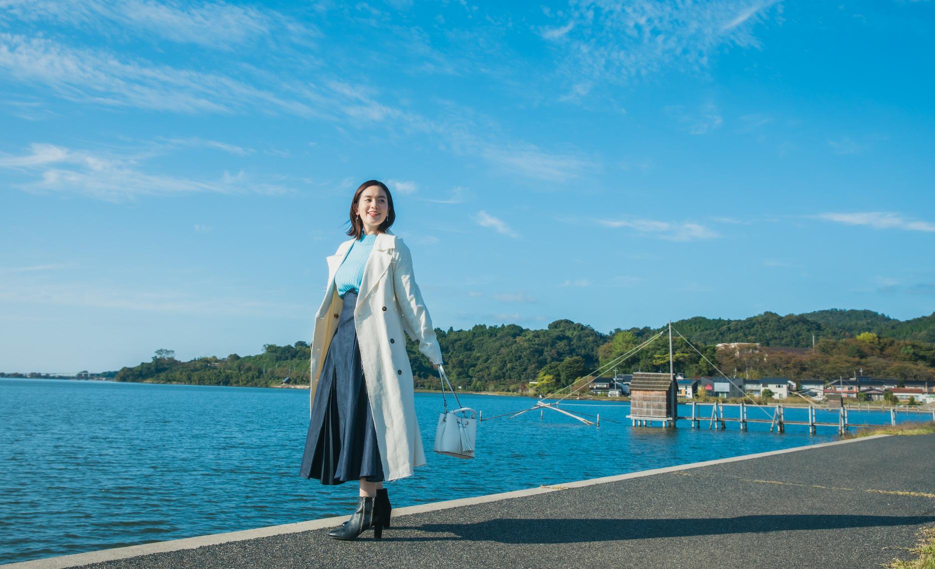 筧美和子さんがナビゲート 湯梨浜町でのんびり&アクティブな欲張り旅