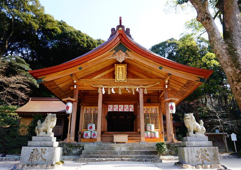 宝満宮竈門神社(ほうまんぐうかまどじんじゃ)