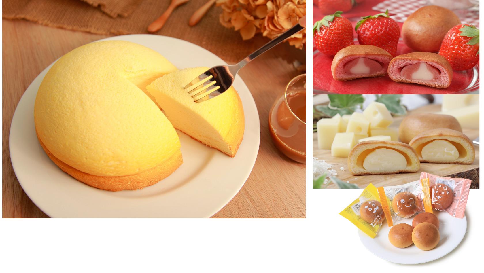 博多笑蔵(エクラ) 「ズコットチーズケーキ」と「博多ピエスドール」
