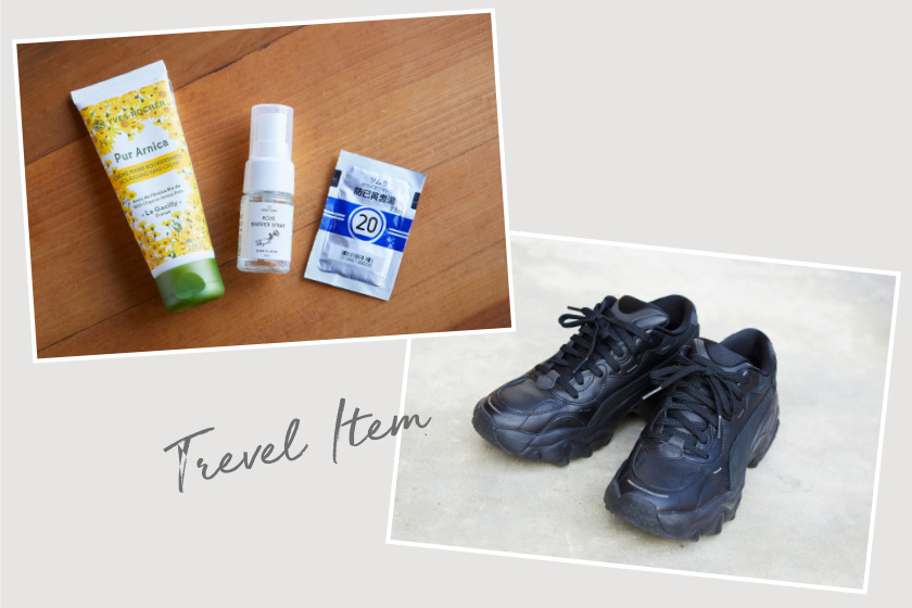わたしの旅アイテム