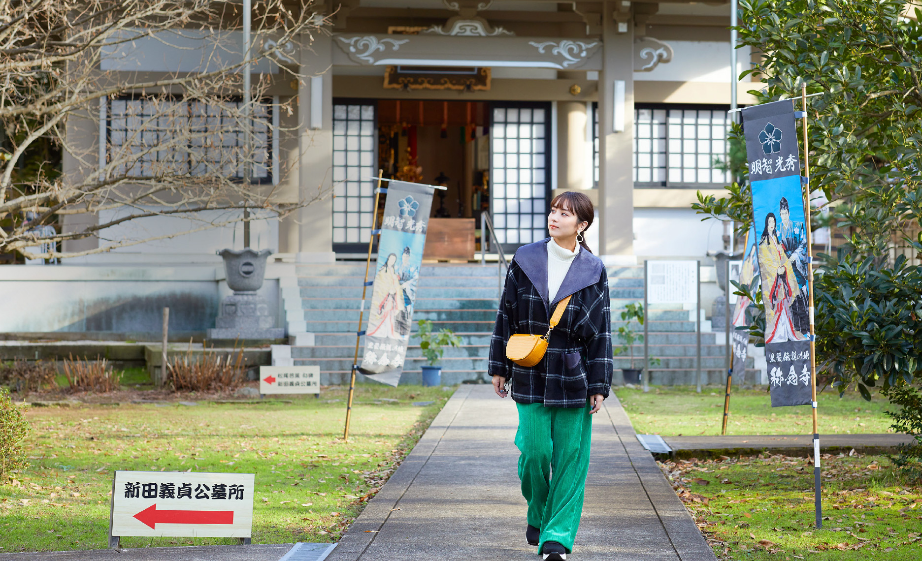石川恋さんがナビゲート 坂井市で自然と歴史文化に触れる大人の学び旅