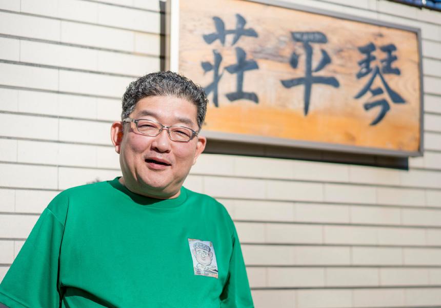元旅館主人・掛神淳さんがつくる入魂の一杯に全国からファンが集う