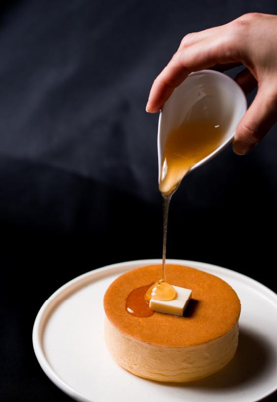 蜂蜜とバターのパンケーキ 850円