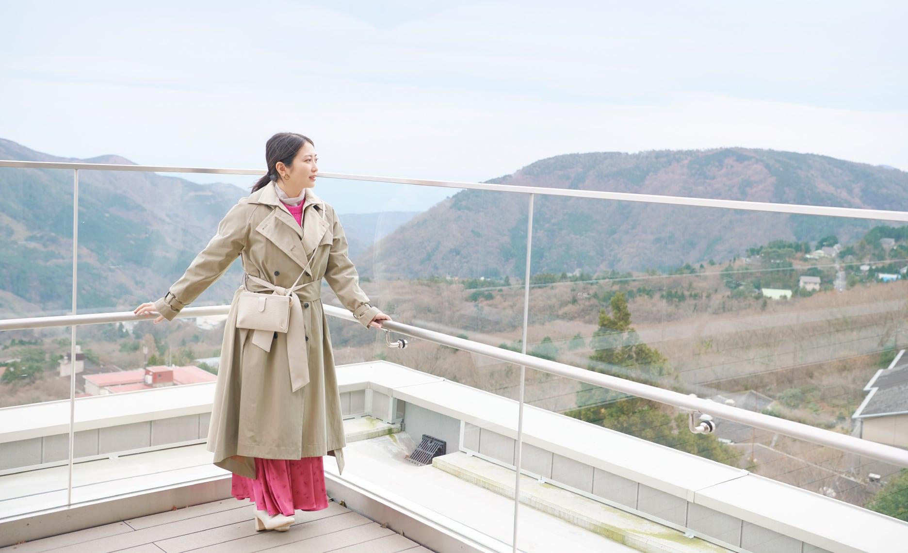 志田未来さんがナビゲート ゆるり、箱根で感性を磨く旅