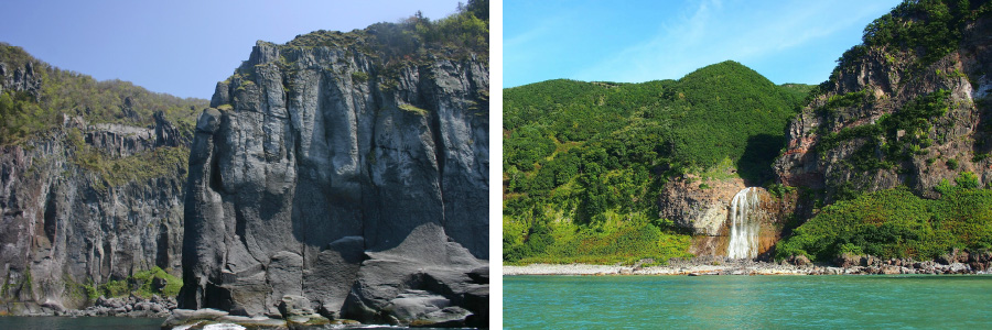 観光船で海から半島クルーズを楽しむ