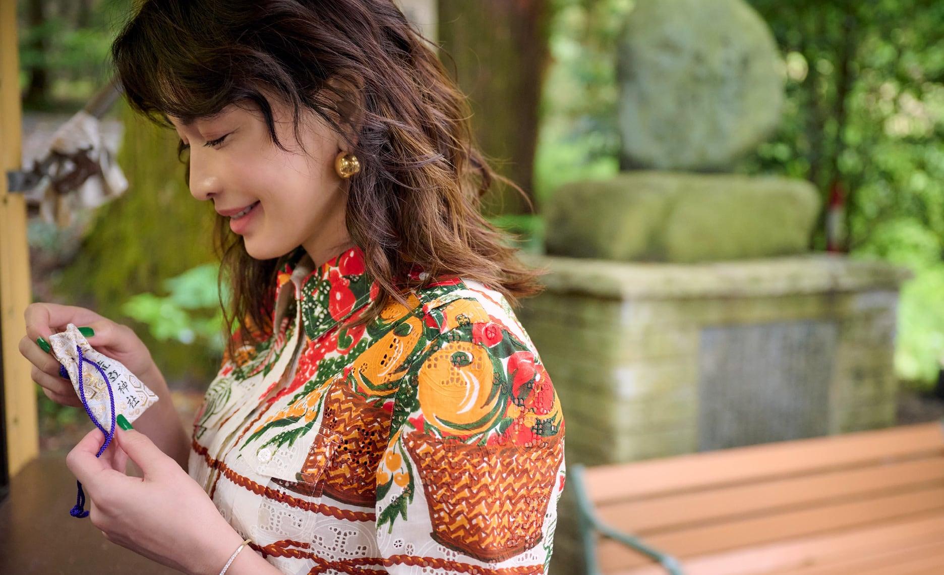長谷川京子さんがナビゲート 高千穂、神話をたどる旅