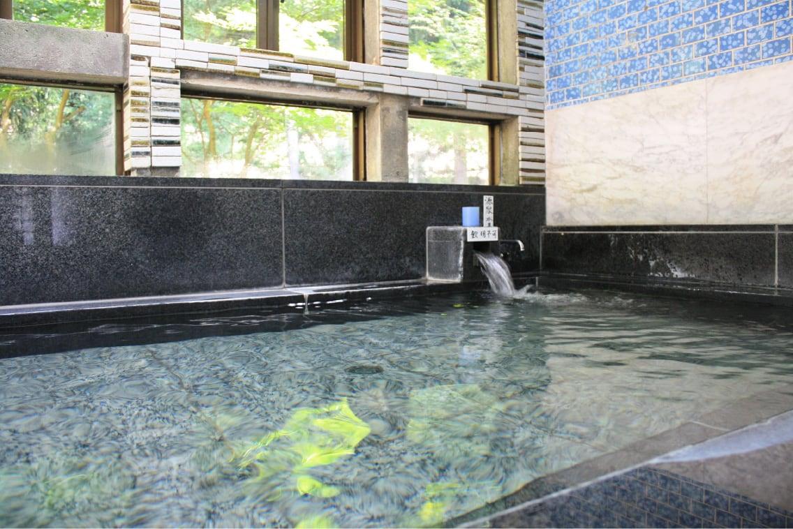 横川温泉 元湯 山田屋旅館」の温泉