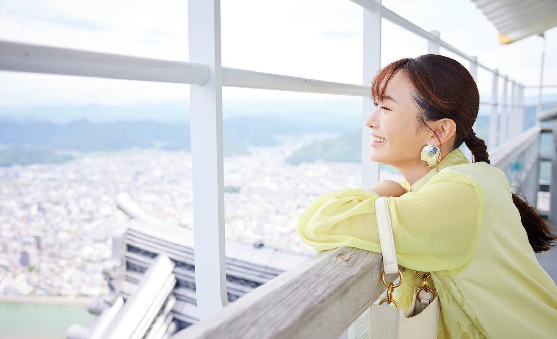 """松本まりかさんがナビゲート 岐阜市の""""美""""に浸る旅"""
