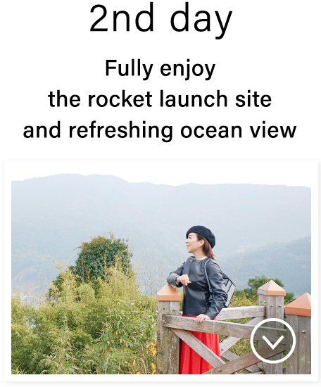 2nd day Fully enjoy the rocket launch site and refreshing ocean view