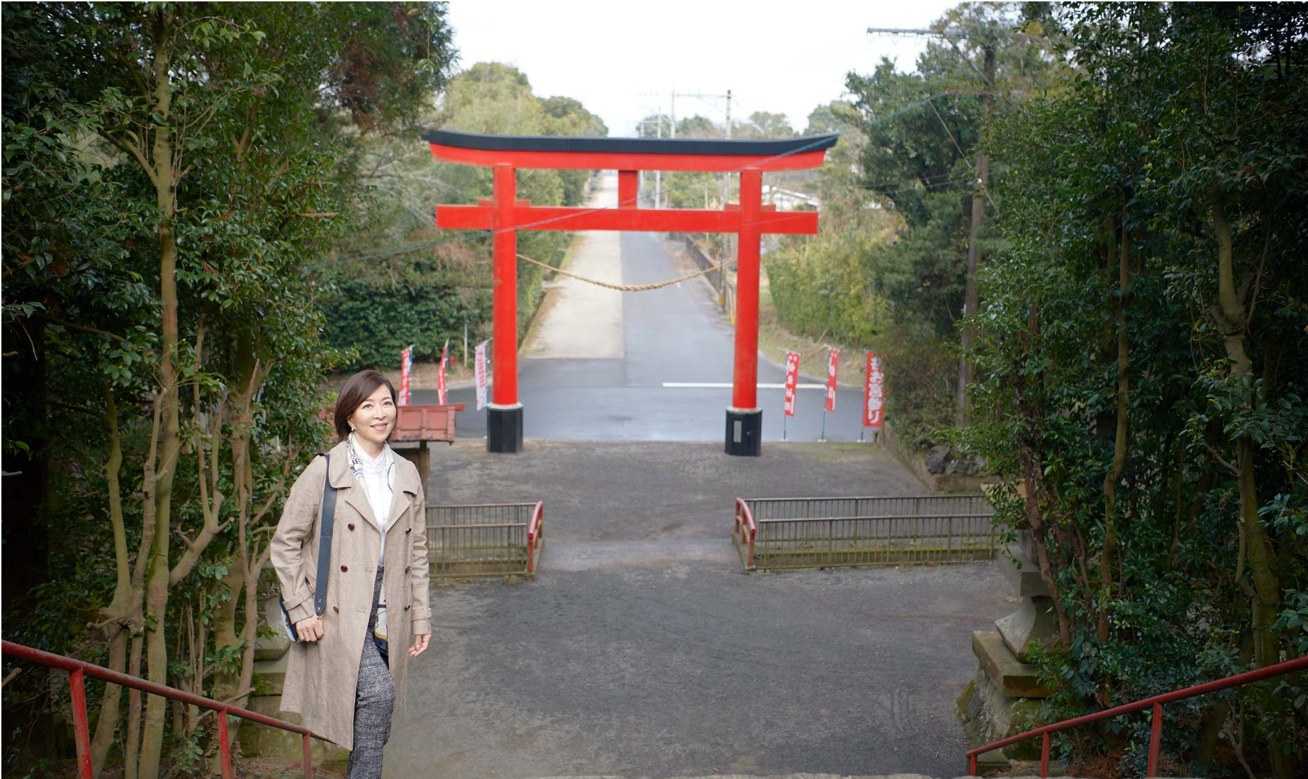 Miki Maya at Kimotsuki town