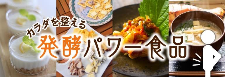 発酵パワー食品