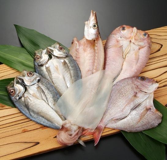 博多志賀島干物セット