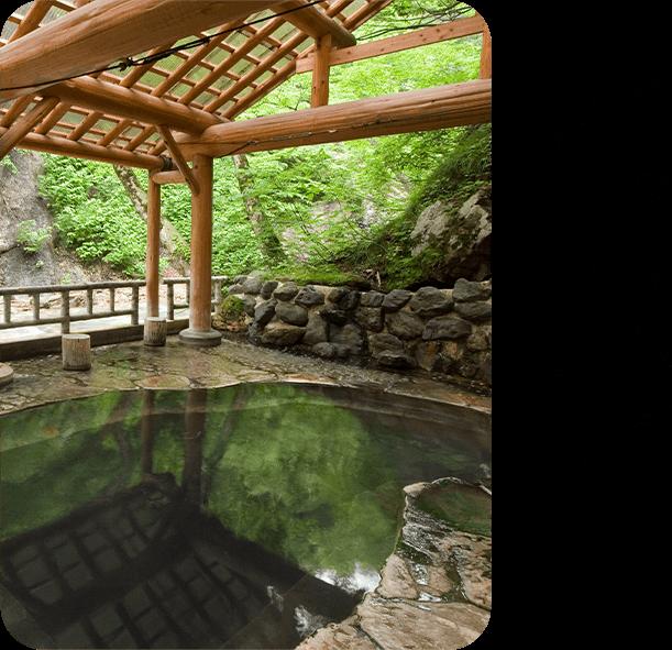 今月のロマン秘湯 「夏油温泉」(岩手県)