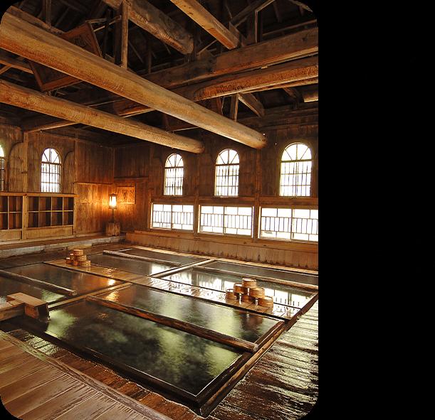 今月のロマン秘湯 「法師温泉」(群馬県)