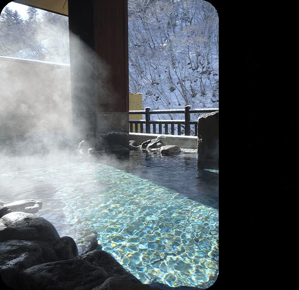 今月のロマン秘湯 「湯西川温泉」(栃木県)