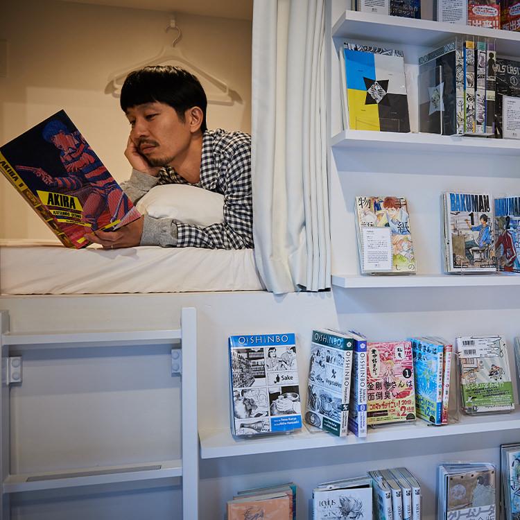 写真家・浅田政志の宿旅 「MANGA ART HOTEL, TOKYO」(東京都)