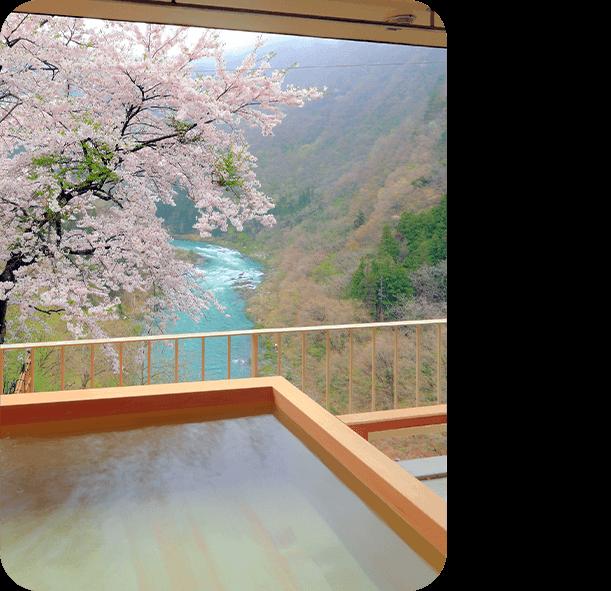 今月のロマン秘湯「芦ノ牧温泉」(福島県)