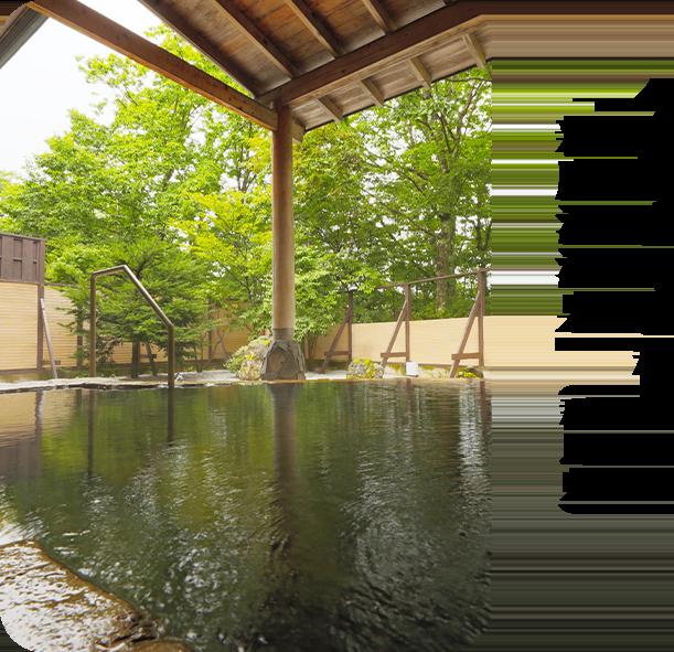 今月のロマン秘湯「新鹿沢温泉」(群馬県)